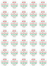 You're Awesome For Supporting  A  Small Business This Christmas This Stickers - 37mm Matt Paper